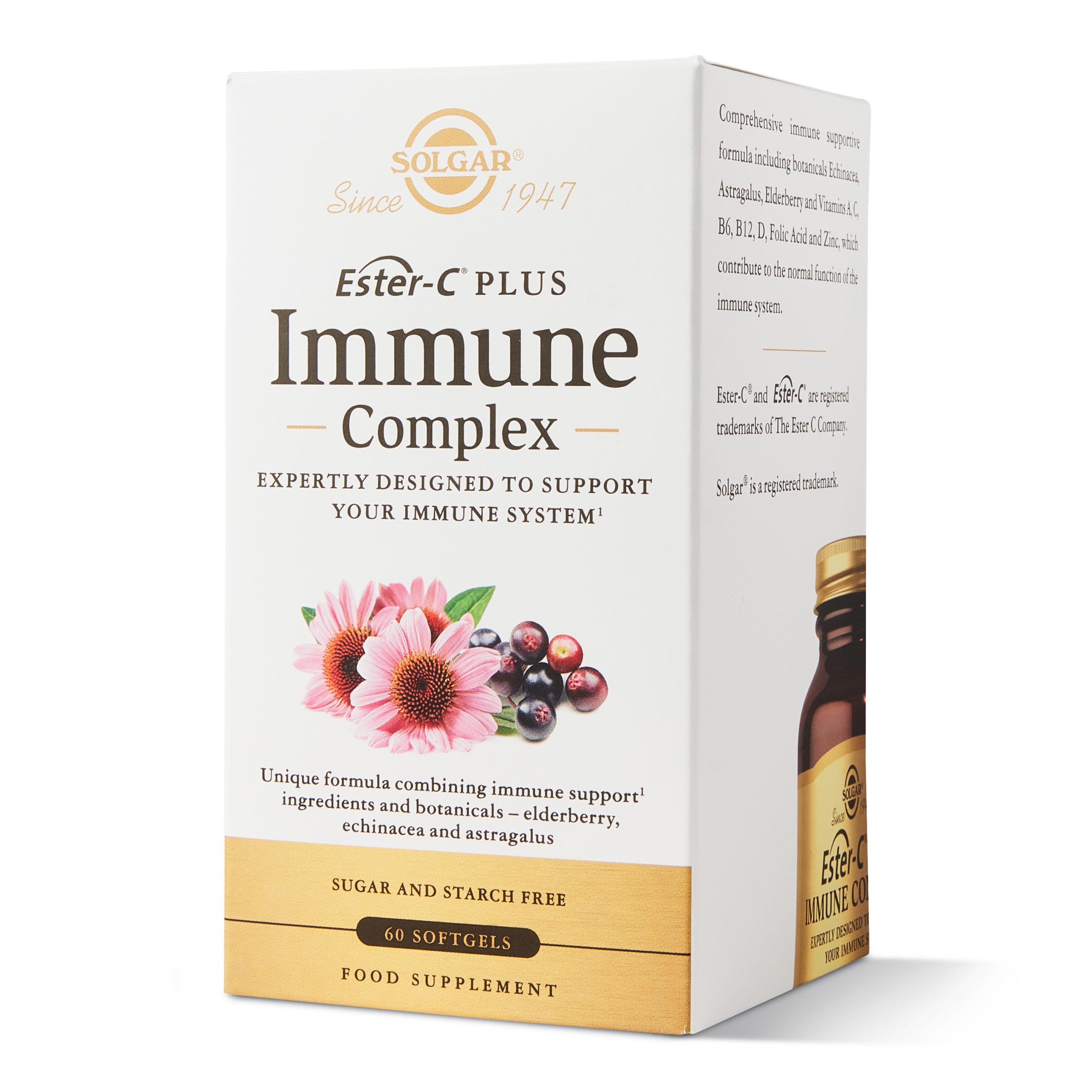 Novinka od SOLGAR: Solgar Immune Complex 60 cps